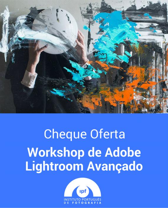 Voucher IPF Workshop de Adobe Lightroom Avançado