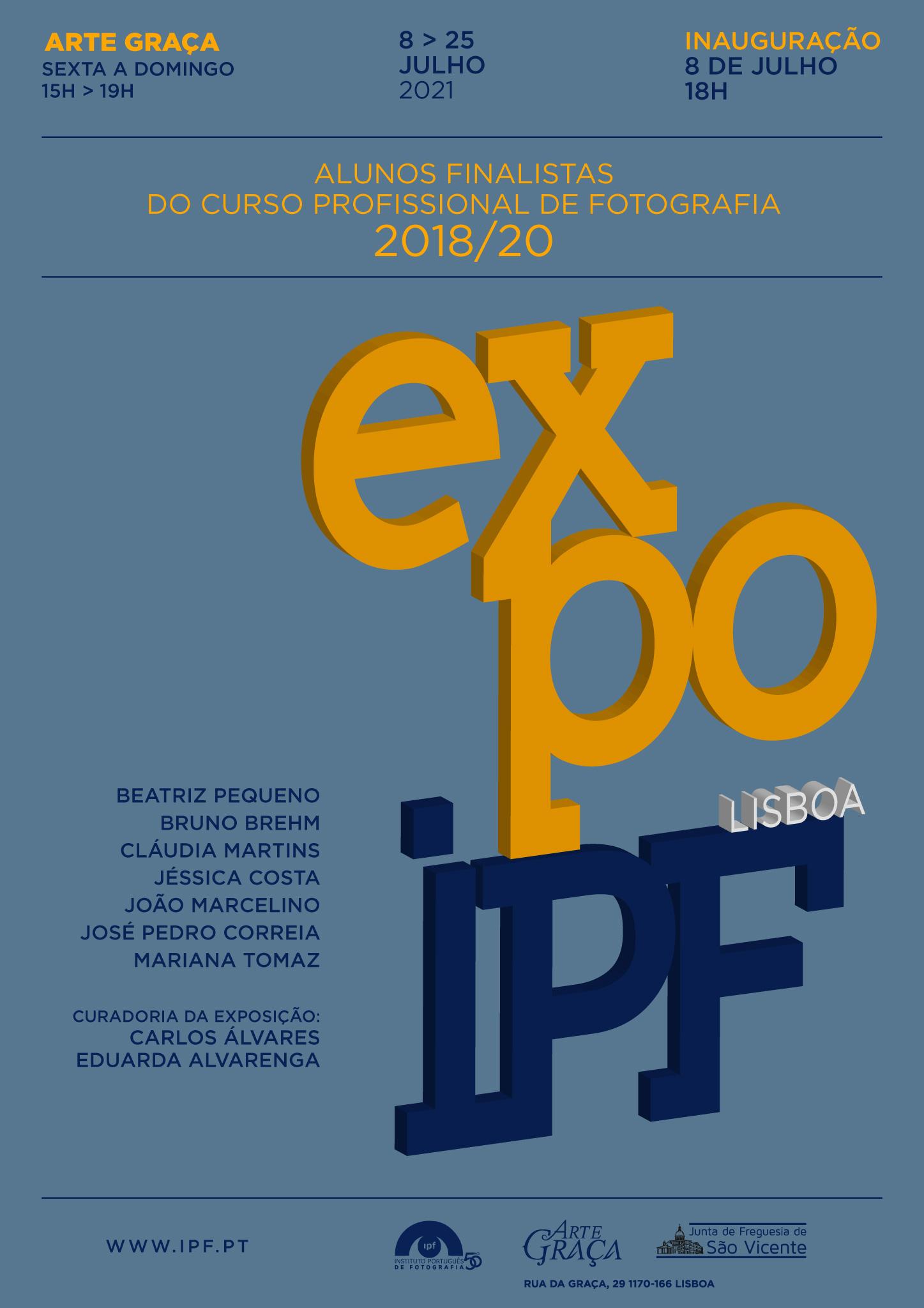 Exposição de Fotografia dos Trabalhos Finais do CPF de Lisboa 2018-2020